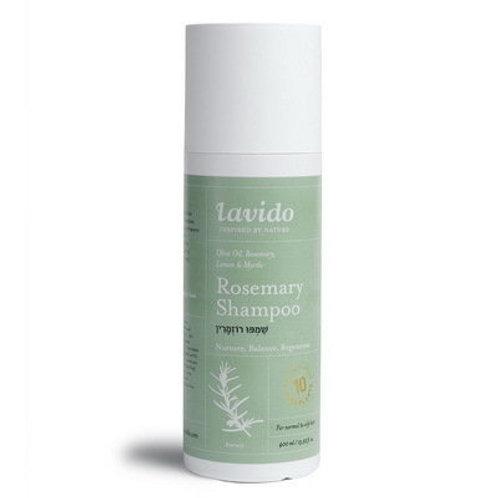 Шампунь для волос с розмарином | Lavido | Купить в IsraeliCosmetics