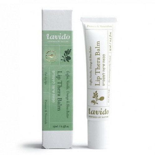 Бальзам для губ с маслом ши и витамином Е   Lavido   IsraeliCosmetics