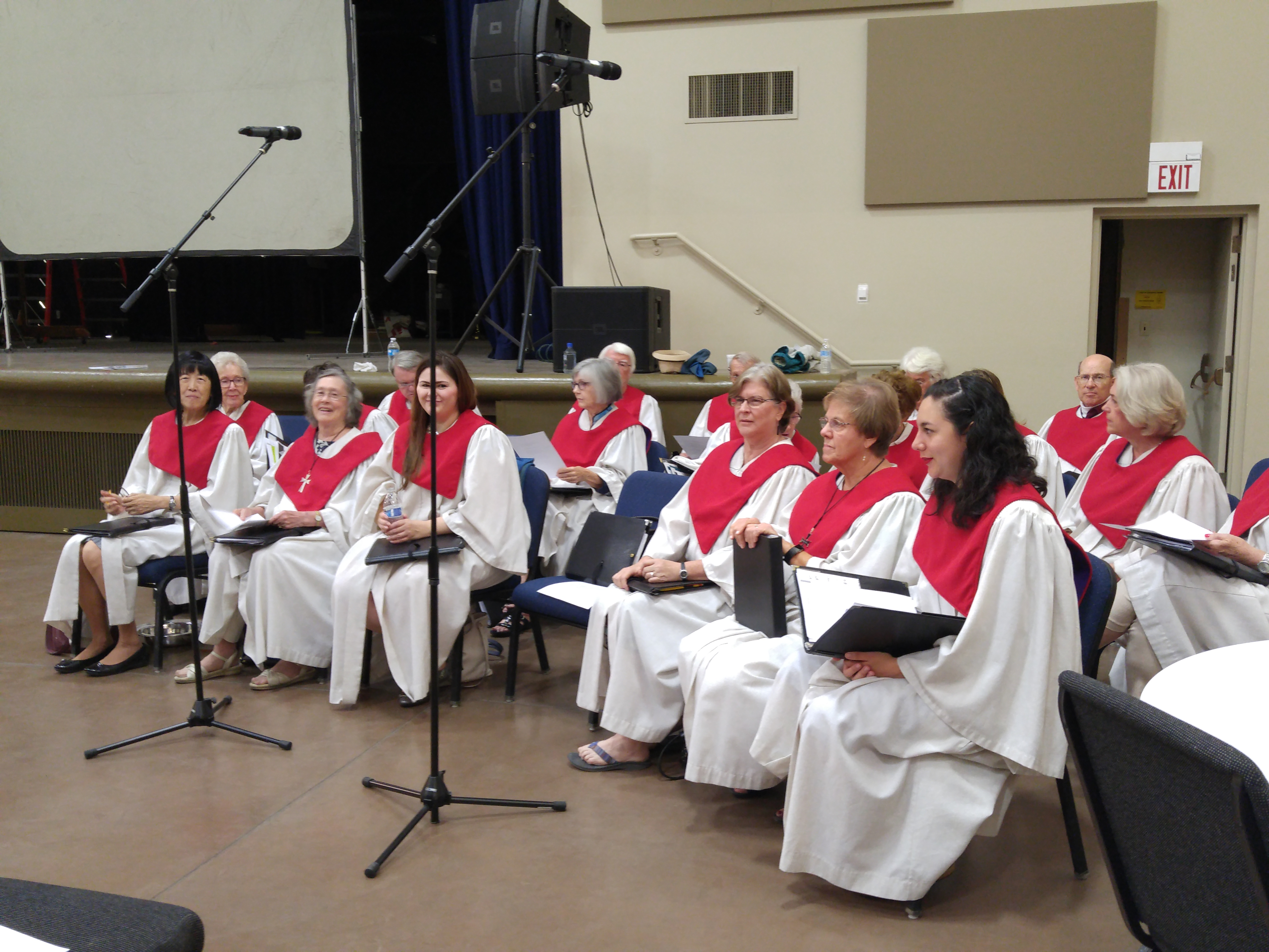 Beatitudes Choir in Nelson Hall