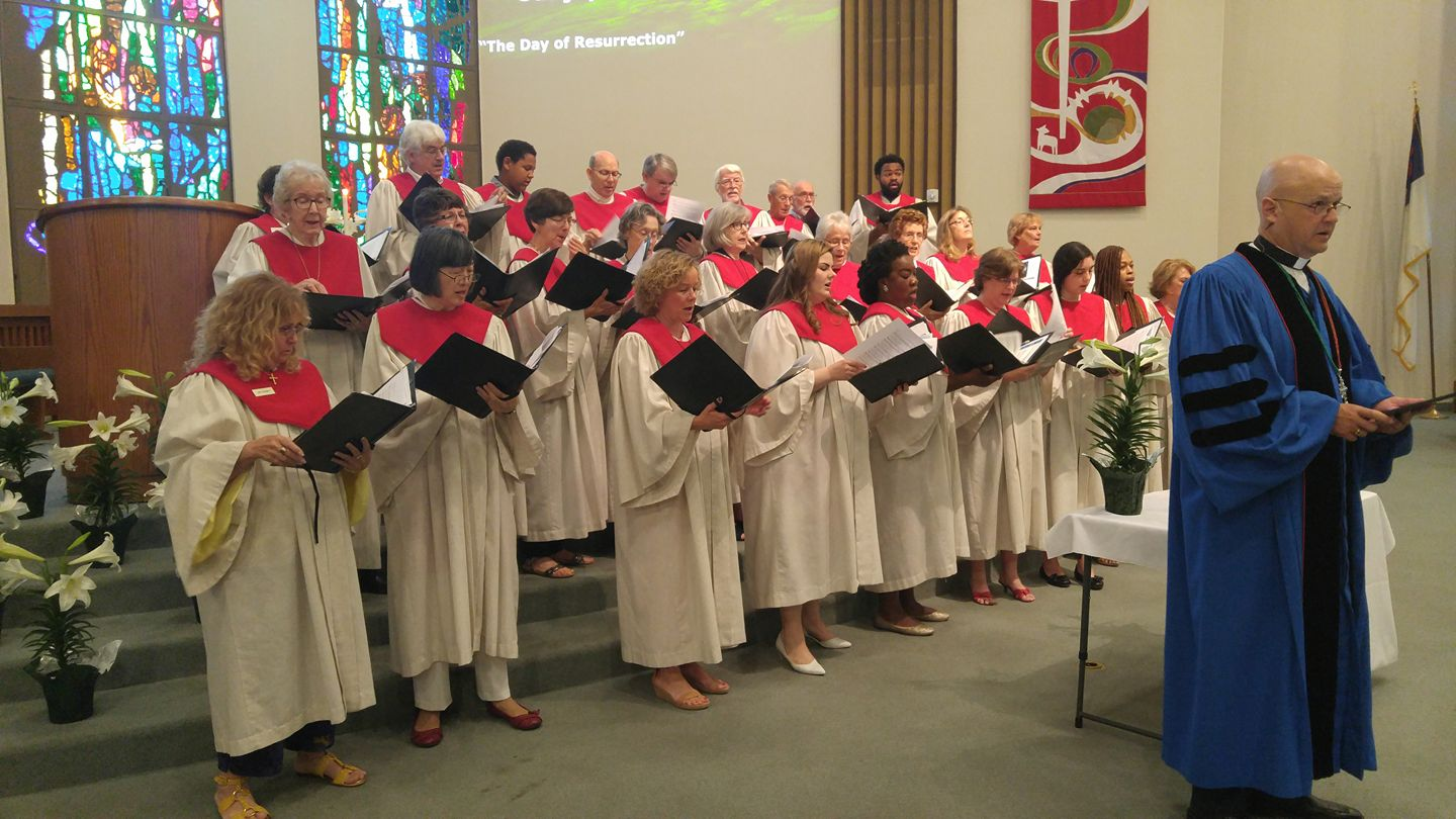 Beatitudes Choir Up Front