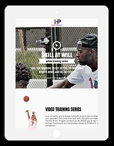 hoop prodigy website tablet