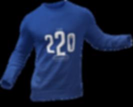 220 experience long sleeve design