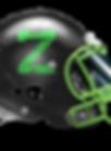 zilla football helmet