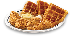 picture of chicken and waffles