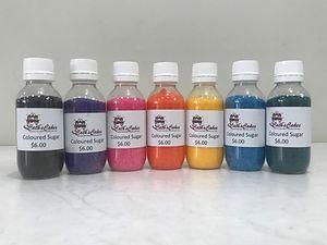 Coloured Sugar All