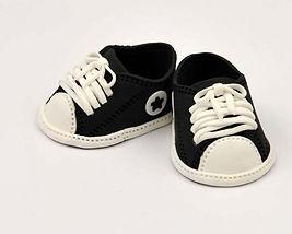 Black Baby Sneakers
