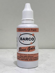 Barco Food Paint Rose Gold