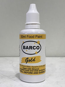 Barco Food Paint Gold