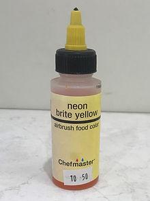Airbrush Neon Brite Yellow Lrg