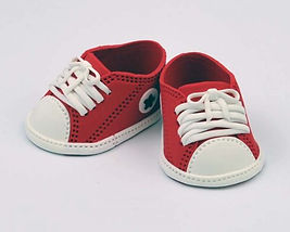 Red Baby Sneakers