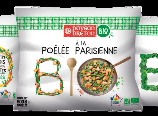 Paysan Breton, les surgelés : 3 nouveautés Bio, françaises et engagées