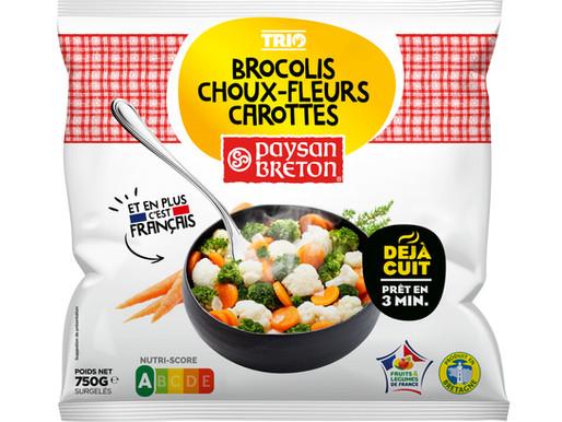 Paysan Breton renforce l'attractivité sa gamme de légumes surgelés déjà cuits et complète son offre
