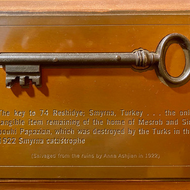 Key Plaque