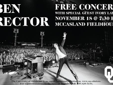 Ben Rector Concert - 11.18.17