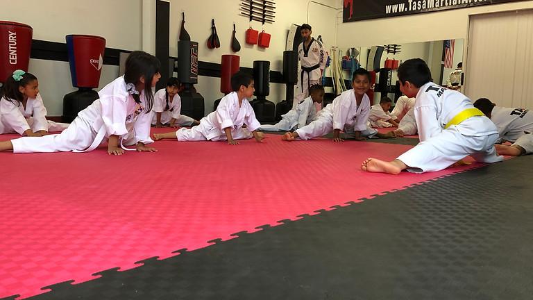 White/Yellow Belt Promotion Test