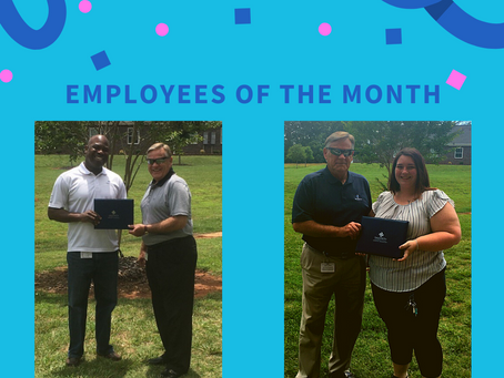 June 2020 | Employees of the Month