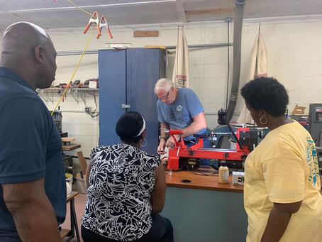 ICYMI: Woodturning classes more than just fun For Nazareth Child & Family Connection staff