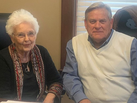At 84, Sue Misenheimer remains thankful for Nazareth Child & Family Connection