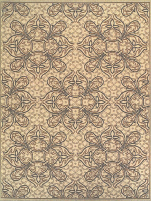 Plaza Design Beige Rug
