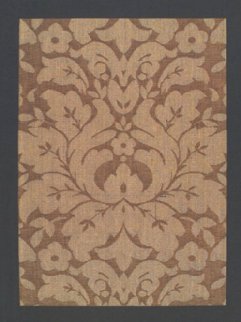 Plaza Floral Brown Rug