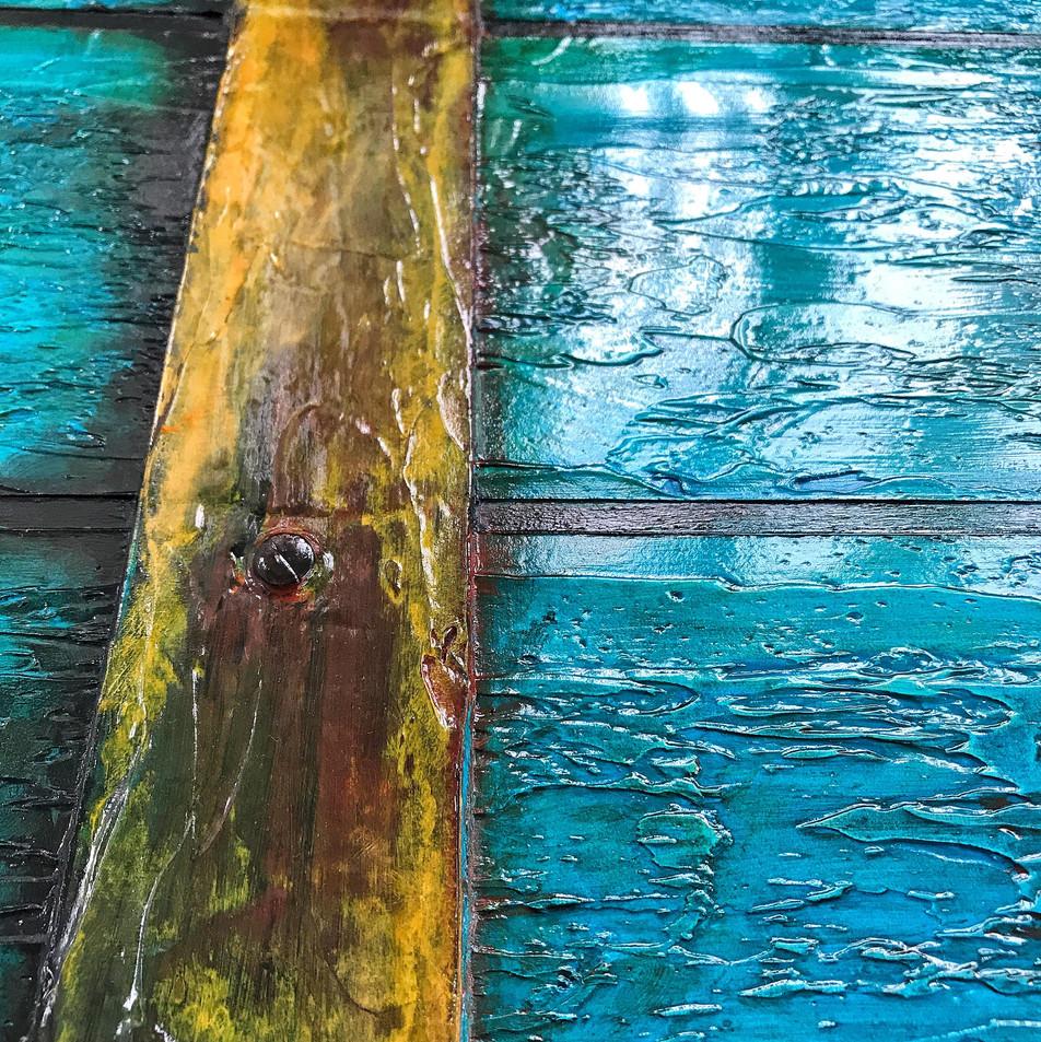 Blue Windows - Detail