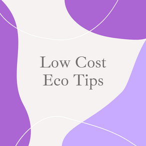 Budget friendly Eco-Tips