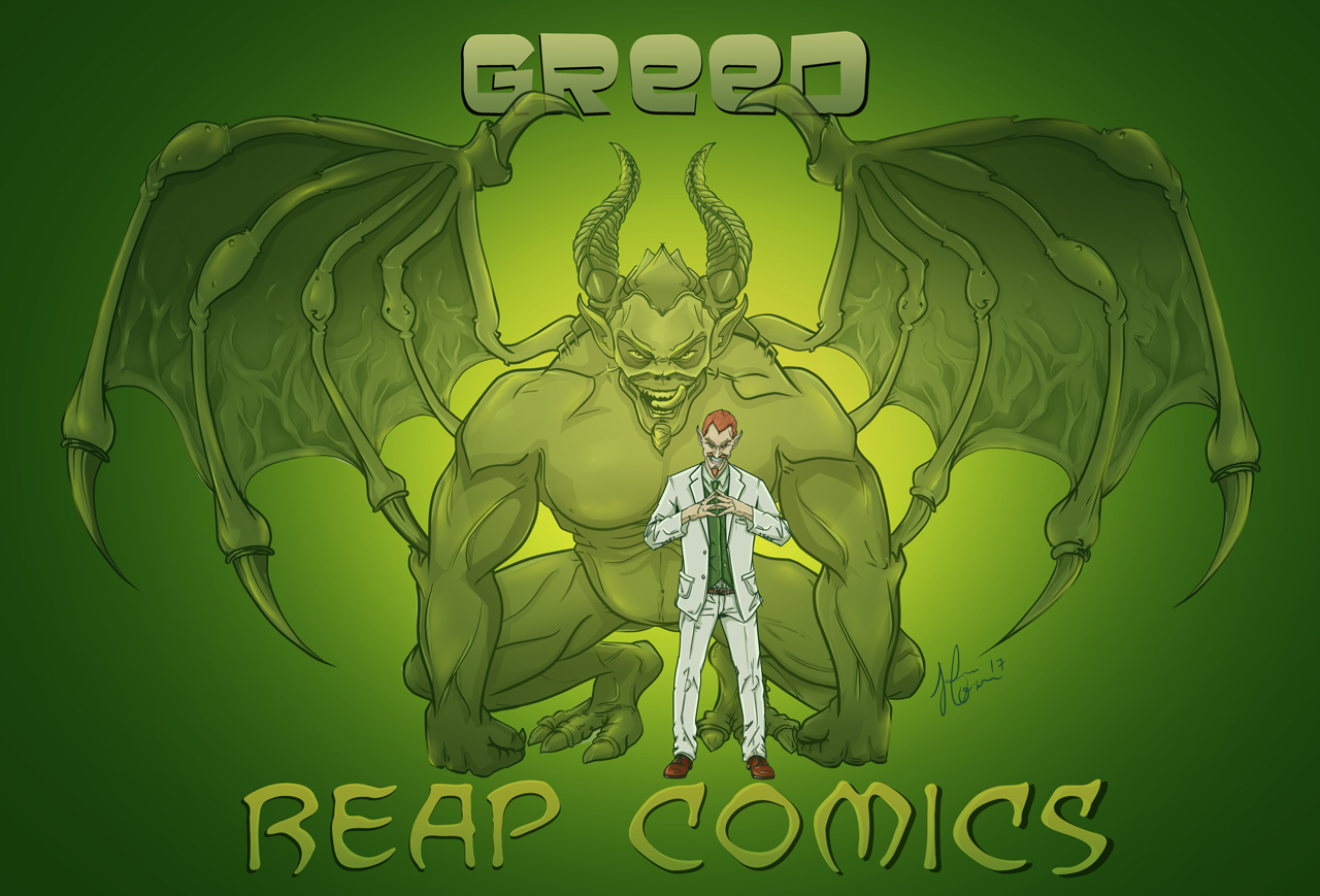 "Demon Lord ""Greed"""