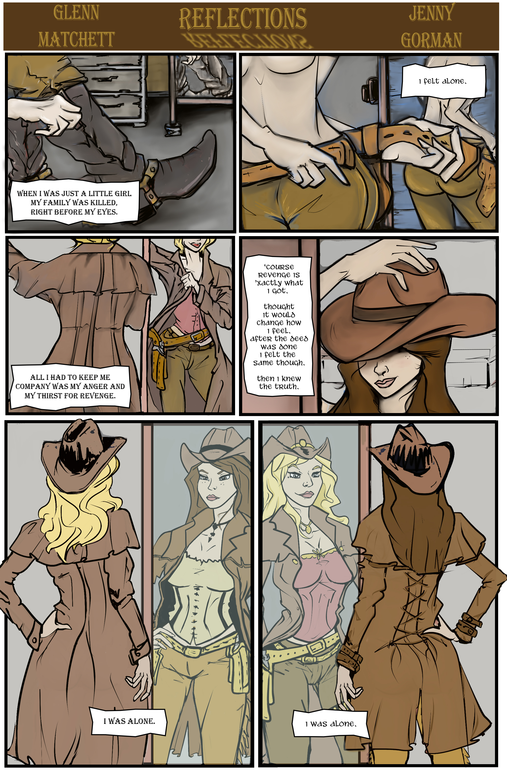 Western Reflections Comic