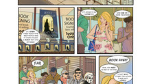 Mini Crossover Comic with Glenn Matchett and Jenny Gorman