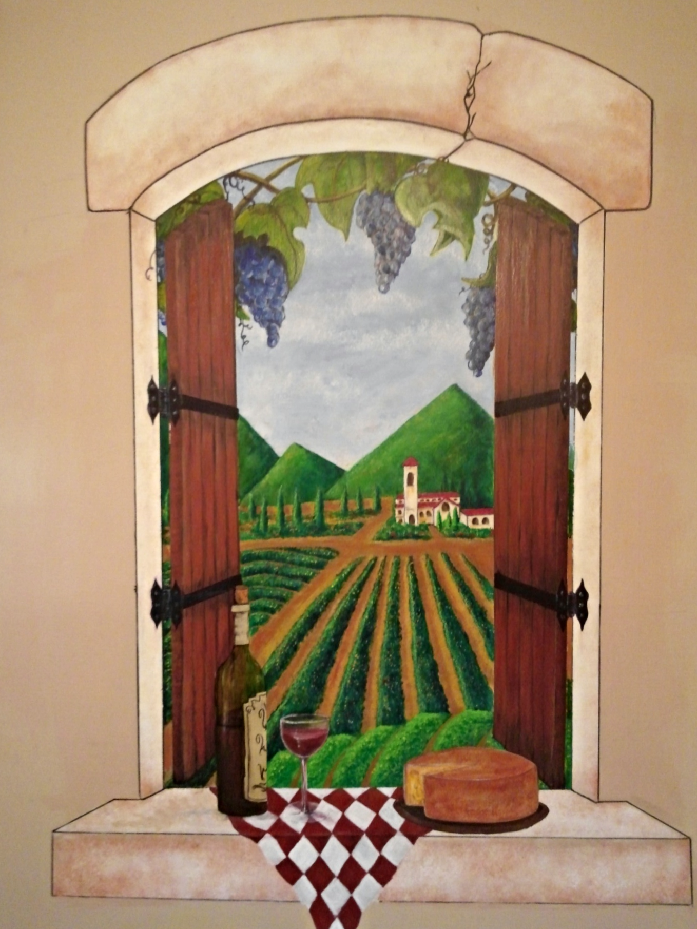 Our Kitchen Wall Mural