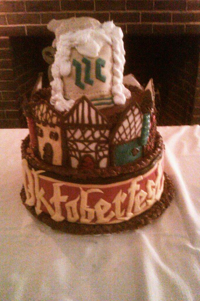 Oktoberfest Cake