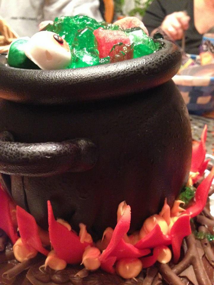 Close Up of Cauldron