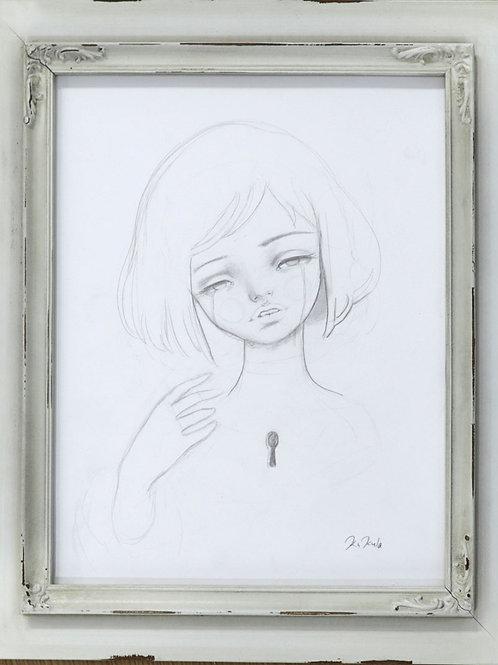 """""""Kim"""" Original Drawing"""