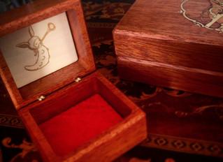 "Art Deco-Revival ""Moira"" Trinket Box by Maison Kukula"