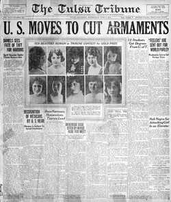 1. Tribune article from June 1st 1921