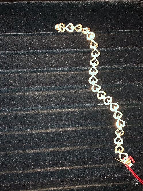 """7.25"""" 14K Gold Bracelet"""