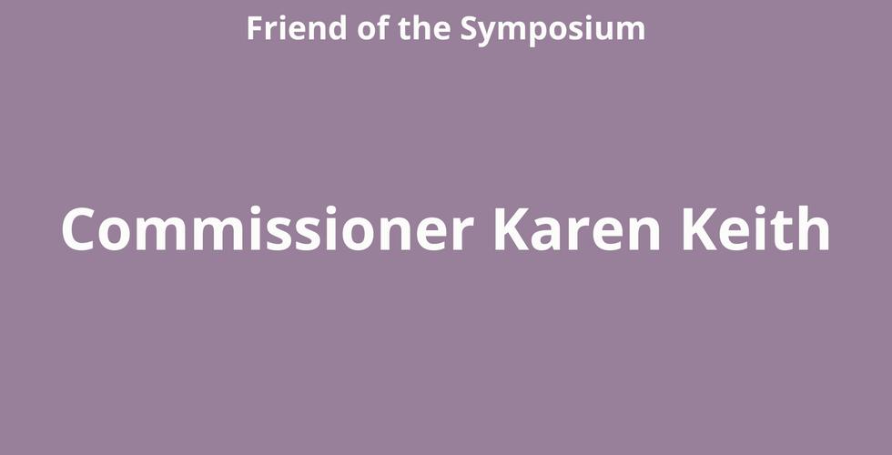 Commissioner Karen Keith