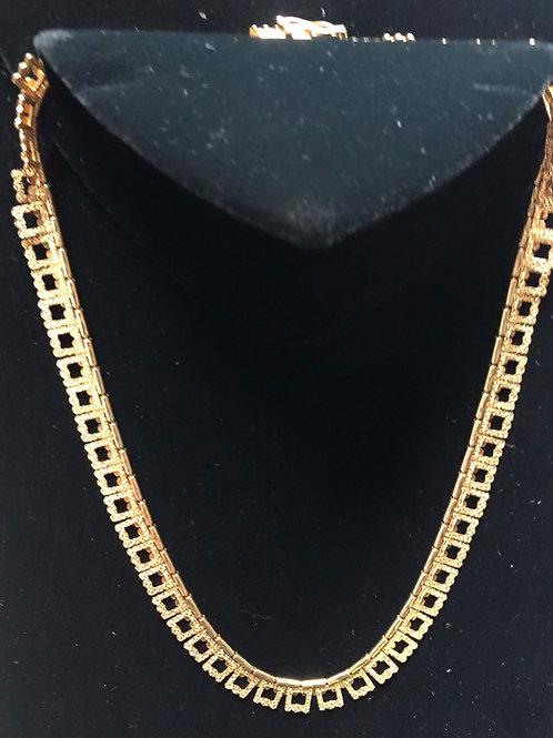 "14"" 14K Gold Necklace"