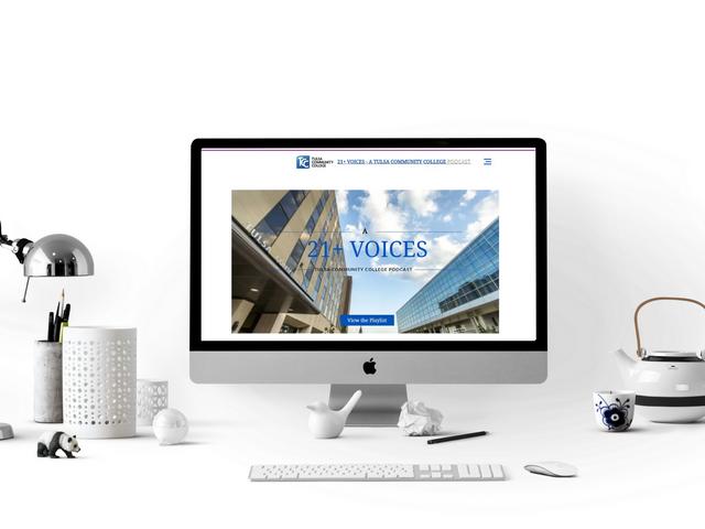 Tulsa Community College-21+ Voices