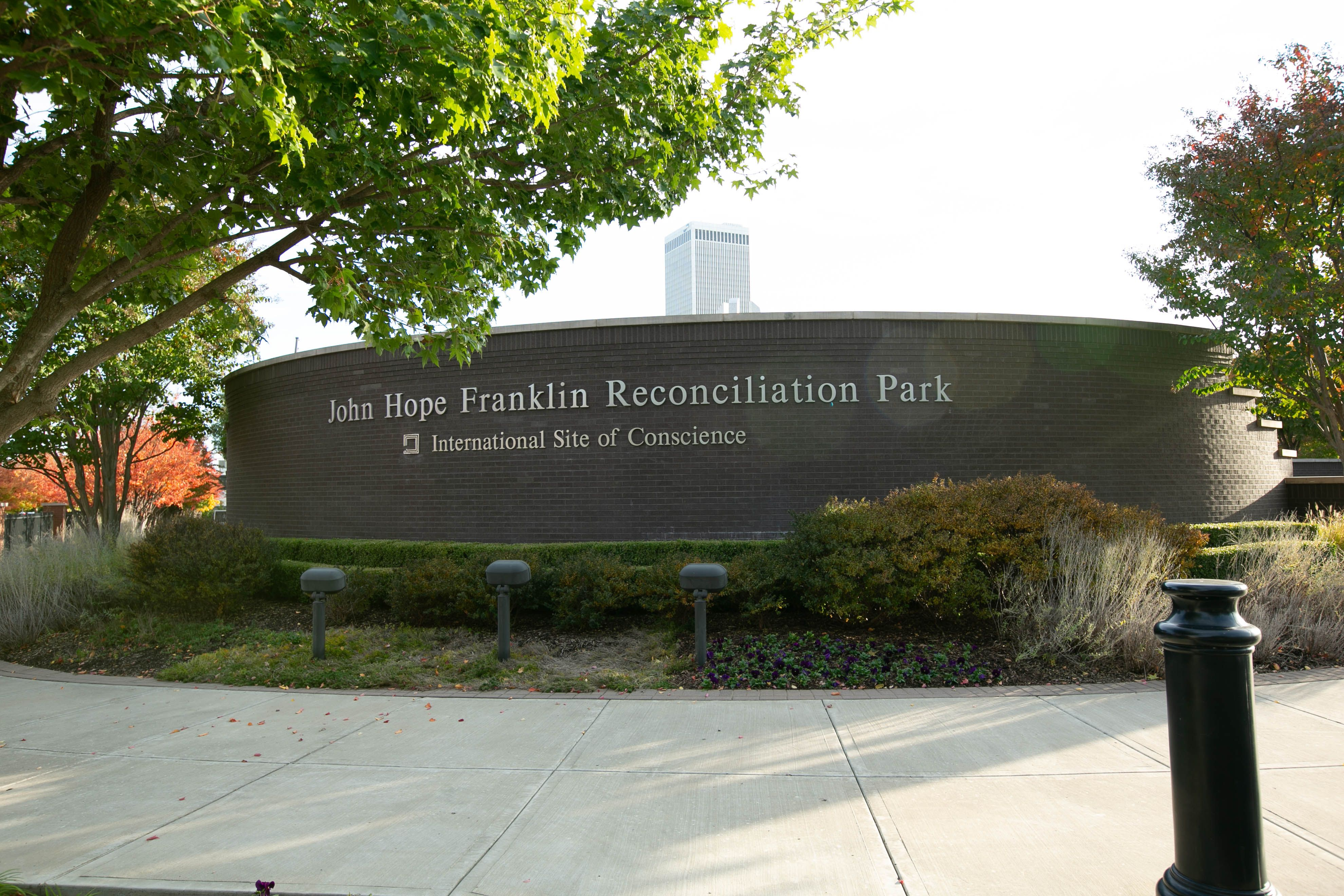 John Hope Franklin Reconciliation Park - International Site of Conscience