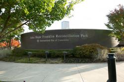 John Hope Franklin Reconciliation Park - International Site of Conscience