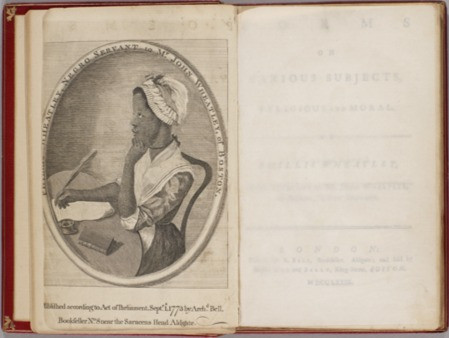 Poems on Various Subjects, Religious and Moral, 1773