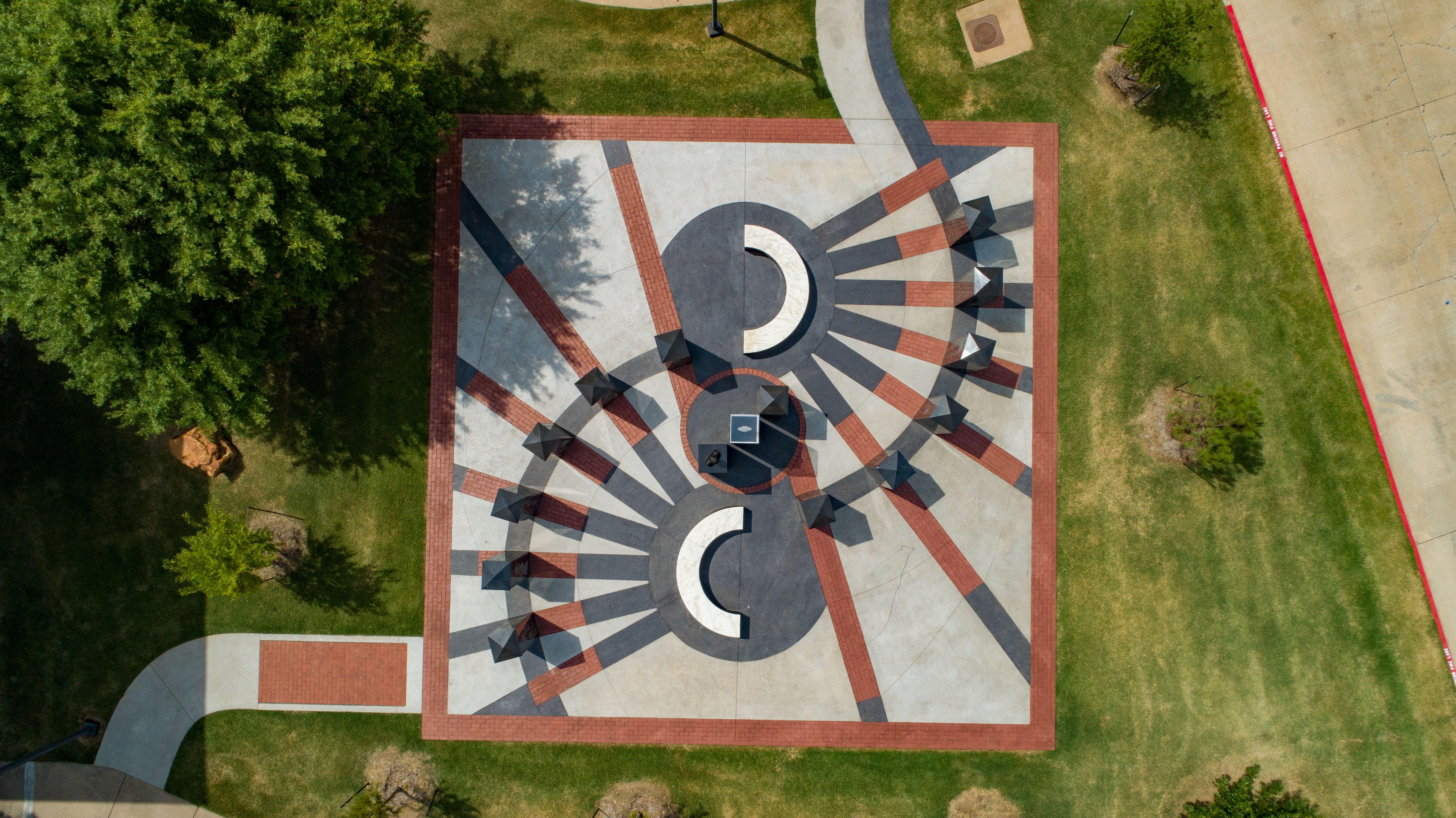Ellis Walker Woods Memorial - Aerial View