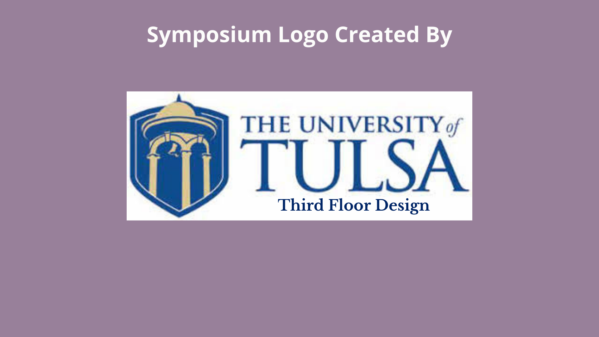 University of Tulsa - Third Floor Design