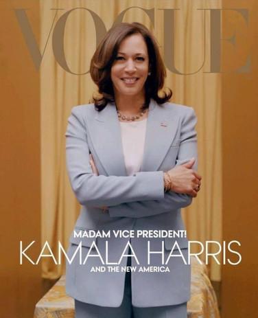 Kamala on Vogue Magazine Cover