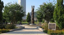 John Hope Franklin Reconciliation Park - Reconciliation Tower