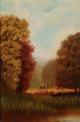 Landscape, Autumn, ca 1865