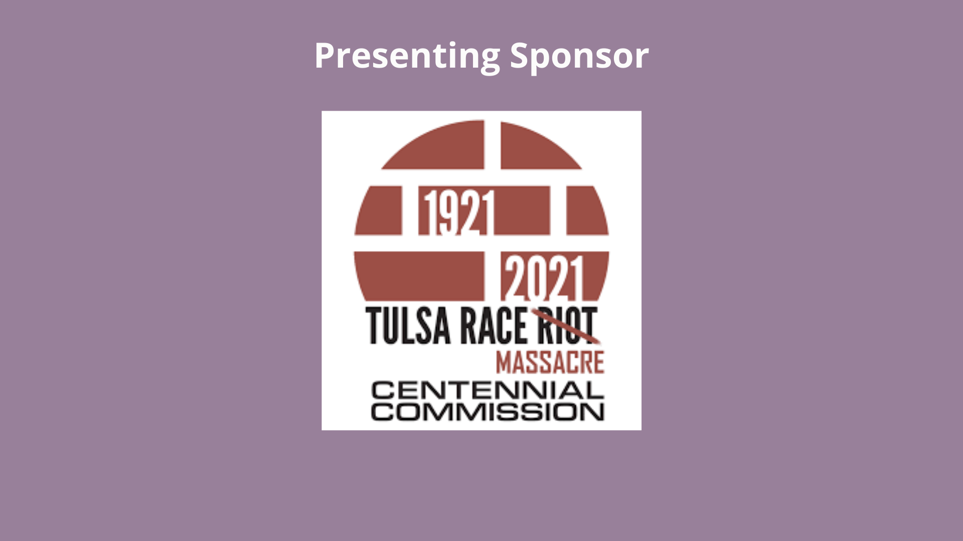 1921 Tulsa Race Massacre Centennial Commission