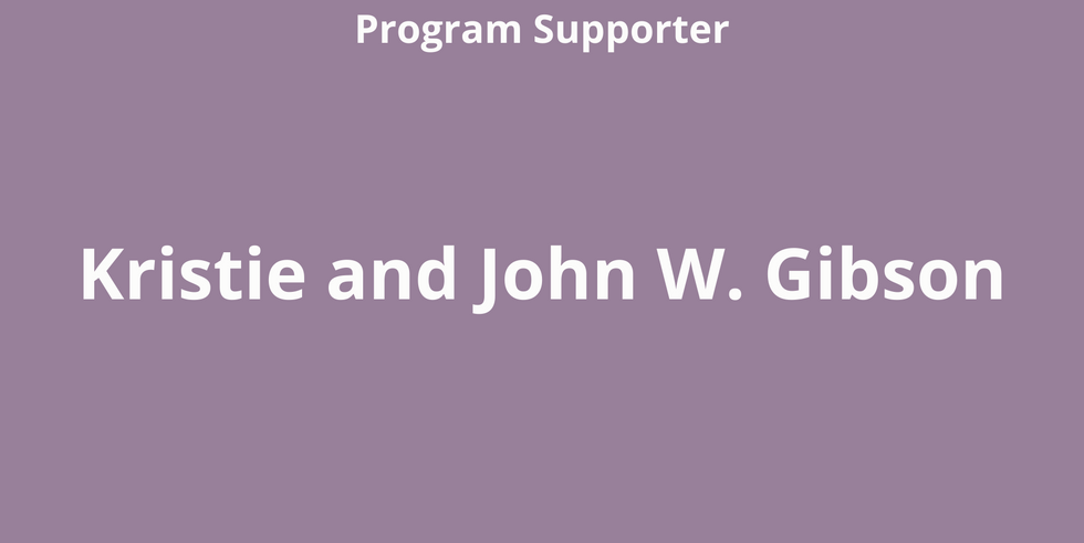 Kristie and John W. Gibson