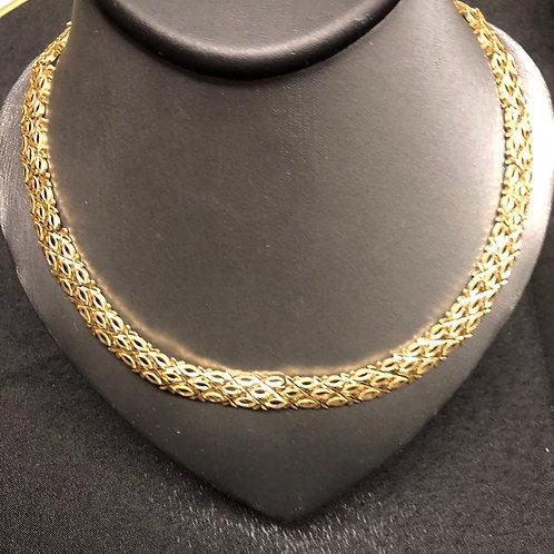 "12"" 14K Gold Necklace"